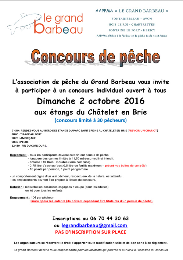 concours chatelet 2016