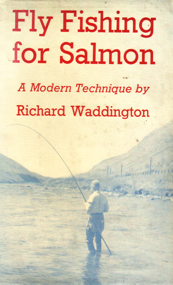 fly fishing for salmon by Richard Waddington